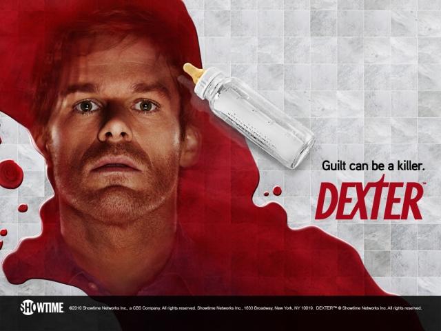 Dexter con sangre