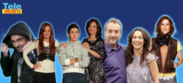 Aída, Doctor Mateo, Salvados, Jordi Évole, Pekín Express, Raquel Sánchez Silva