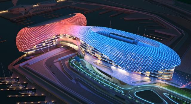Imagen del circuito de Abu Dhabi