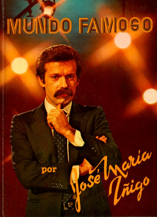 José María Íñigo y su bigote